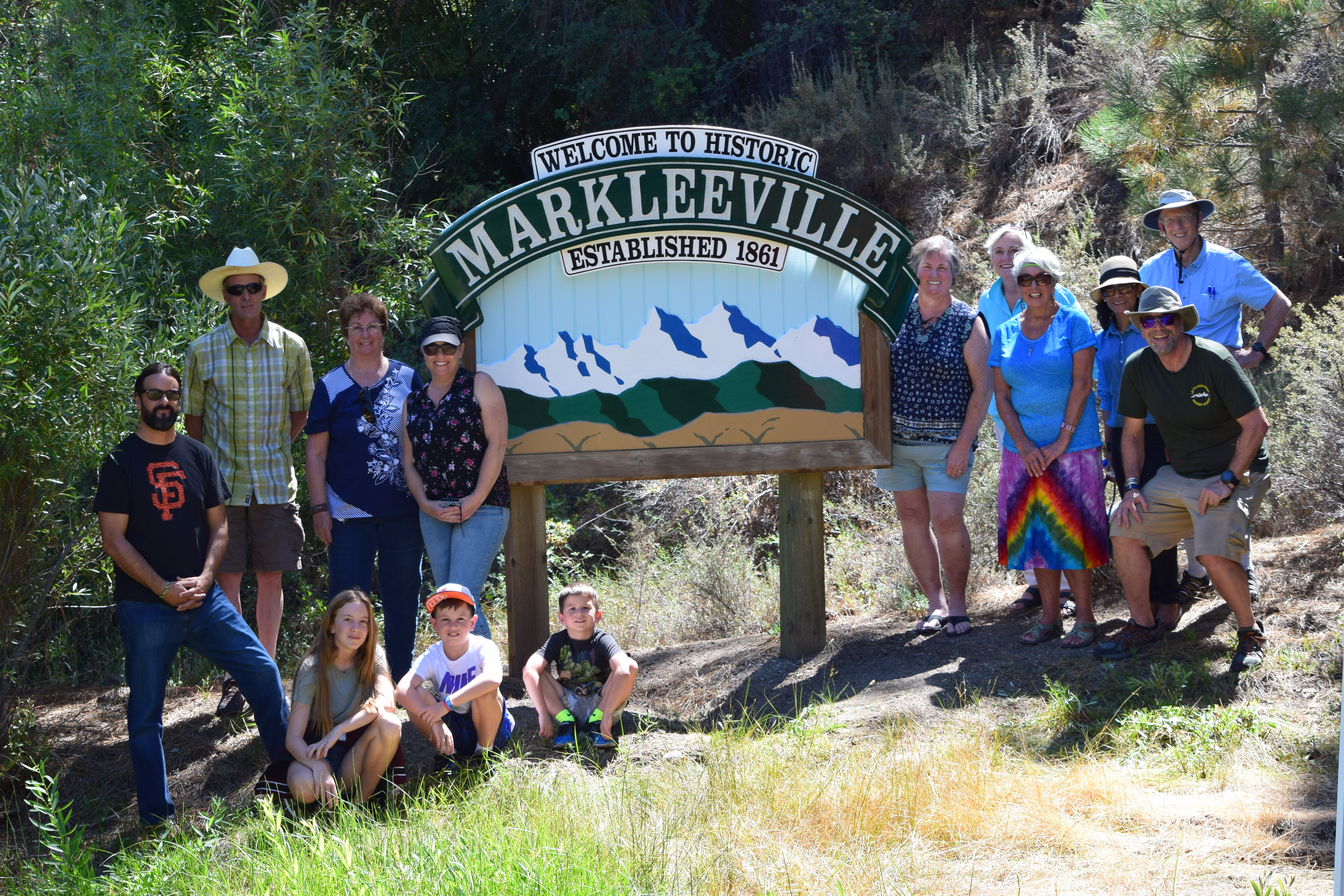 Welcome to Historic Markleeville Signs - dedication