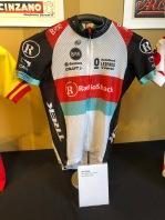 Jens Voigt's 2013 TDF Race Worn Jersey