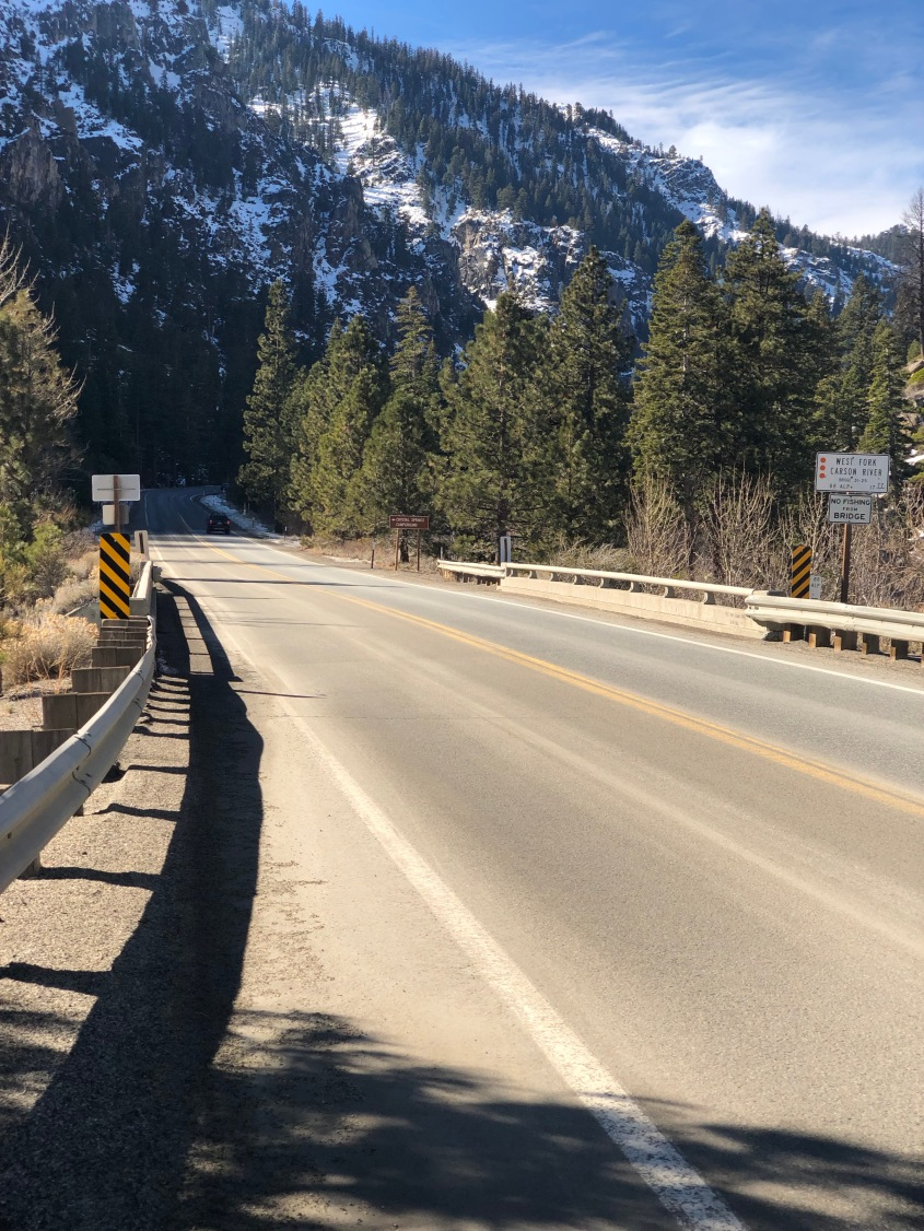 Road conditions – California Alps Cycling